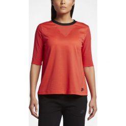 Koszulka Nike NSW Top Bonded (829755-852). Czarne t-shirty damskie Nike, z bawełny. Za 79,99 zł.
