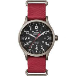 Zegarek Timex Męski TW4B04500 Expedition Metal Field czerwony. Czerwone zegarki męskie Timex, metalowe. Za 220,00 zł.