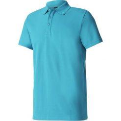 Adidas Koszulka Essentials Base Polo turkusowa r.S. Czarne koszulki polo marki Adidas, do piłki nożnej. Za 119,21 zł.
