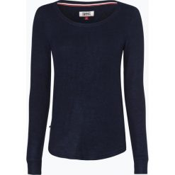 T-shirty damskie: Tommy Jeans - Damska koszulka z długim rękawem, niebieski