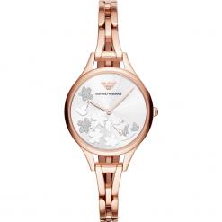 Zegarek EMPORIO ARMANI - Aurora AR11108  Rose Gold/Rose Gold. Czerwone zegarki damskie Emporio Armani. Za 1229,00 zł.