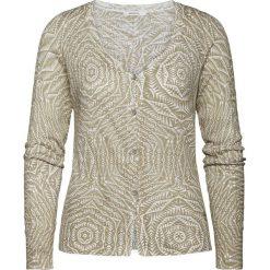 Swetry damskie: Kardigan w kolorze szarobrązowym