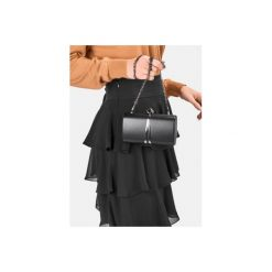 Puzderka: Czarne torebka typu kopertówka Fisterra