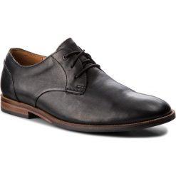 Półbuty CLARKS - Broyd Walk 261238607 Black Leather. Czarne półbuty skórzane męskie marki Kazar. W wyprzedaży za 249,00 zł.