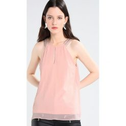Bluzki asymetryczne: Vero Moda VMALMA BEADED Bluzka misty rose