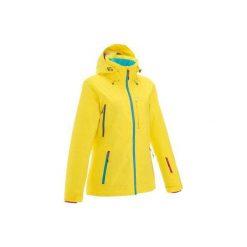 Kurtka FREE 500. Żółte kurtki damskie marki WED'ZE, xs. W wyprzedaży za 279,99 zł.