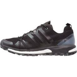 Adidas Performance TERREX AGRAVIC Obuwie do biegania Szlak core black/vista grey. Czarne buty do biegania męskie adidas Performance, z materiału. Za 549,00 zł.