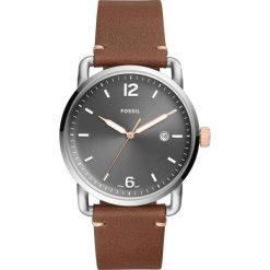 Zegarek FOSSIL - The Commuter 3H Date FS5417 Brown/Silver. Różowe zegarki męskie marki Fossil, szklane. Za 445,00 zł.