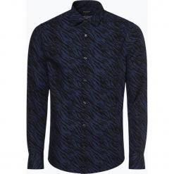 Tiger of Sweden - Koszula męska – Farrell 4, niebieski. Brązowe koszule męskie marki Tiger of Sweden, m, z wełny. Za 589,95 zł.