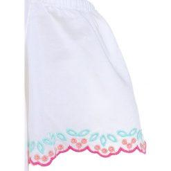 Sukienki dziewczęce z falbanami: Abercrombie & Fitch HIGH NECK COLD SHOULDER  Tunika white
