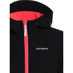 Icepeak TUUA  Kurtka Softshell black. Czarne kurtki chłopięce przeciwdeszczowe Icepeak, z elastanu. W wyprzedaży za 152,10 zł.