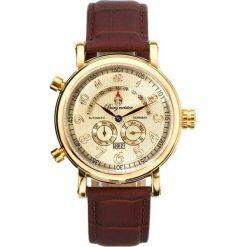 """Zegarki męskie: Zegarek """"Nevada"""" w kolorze brązowo-złotym"""