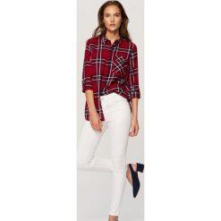 Koszula w kratę - Niebieski. Białe koszule chłopięce marki Reserved, m. Za 59,99 zł.