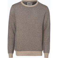 DENIM by Nils Sundström - Sweter męski, beżowy. Brązowe swetry klasyczne męskie DENIM by Nils Sundström, l, z denimu. Za 179,95 zł.