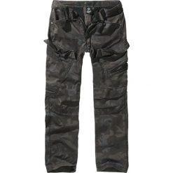 Brandit Adven Trousers Slim Fit Spodnie kamuflaż (Dark Camo). Zielone rurki męskie marki Brandit. Za 164,90 zł.