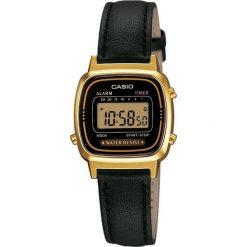 Zegarek Casio Zegarek damski Retro czarny (LA-670WEGL-1EF). Czarne zegarki damskie CASIO. Za 180,00 zł.
