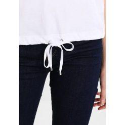 T-shirty damskie: talkabout 1/2 ARM Tshirt z nadrukiem weiss/weiss