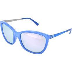 """Okulary przeciwsłoneczne damskie: Okulary przeciwsłoneczne """"GU7444"""" w kolorze niebieskim"""