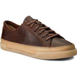 Creepersy damskie: Półbuty CLARKS - Hidi Holly 261267764 Dark Tan Leather