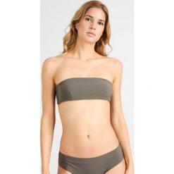 Stroje kąpielowe damskie: Filippa K BANDEAU  Góra od bikini khaki