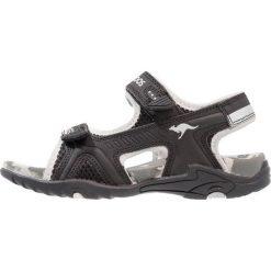 KangaROOS SINCLAIR II Sandały trekkingowe jet black/vapor grey. Niebieskie sandały chłopięce marki KangaROOS. Za 149,00 zł.