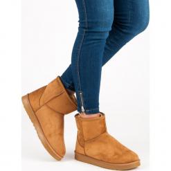 WSUWANE ŚNIEGOWCE. Białe buty zimowe damskie marki KYLIE. Za 76,90 zł.