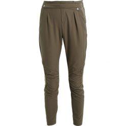 Spodnie dresowe damskie: comma Spodnie treningowe khaki