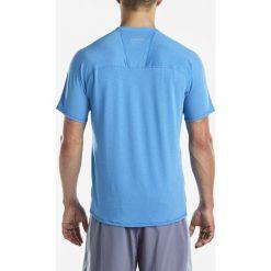 SAUCONY Koszulka męska krótki rękaw FREEDOM V-NECK BLUE ASTER/L / SA81191-BA. Niebieskie koszulki do biegania męskie Saucony, l, z bawełny, z długim rękawem. Za 139,00 zł.