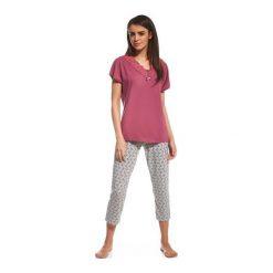 Piżama Diane 059/121. Czerwone piżamy damskie Cornette. Za 99,90 zł.