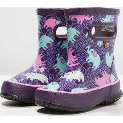 Buty zimowe damskie: Bogs SKIPPER ELEPHANTS Kalosze purple/mint
