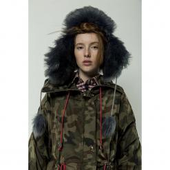 Militarna czapka zimowa. Czarne czapki zimowe damskie Pakamera, na zimę, moro, militarne. Za 180,00 zł.