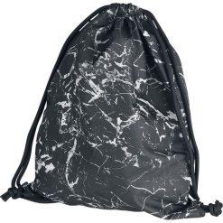 BagBase Graphic Drawstring Backpack Plecak czarny/biały. Białe plecaki męskie marki BagBase. Za 29,90 zł.