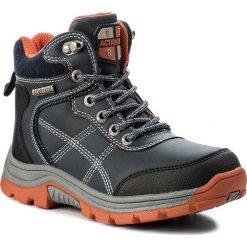Buty zimowe chłopięce: Trapery ACTION BOY – CP07-17007-01 Granatowy