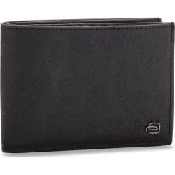 Duży Portfel Męski PIQUADRO - PU1241B3R/N Czarny. Czarne portfele męskie marki Piquadro, ze skóry. W wyprzedaży za 349,00 zł.