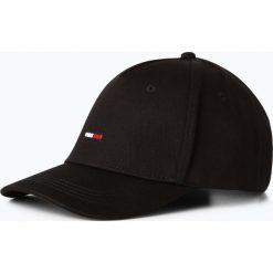 Tommy Jeans - Męska czapka z daszkiem, czarny. Czarne czapki z daszkiem męskie Tommy Jeans, z haftami, z jeansu, klasyczne. Za 129,95 zł.