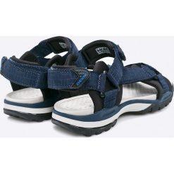 Geox - Sandały. Szare sandały chłopięce Geox, z gumy. W wyprzedaży za 249,90 zł.