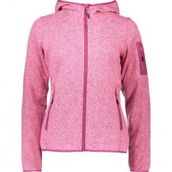 Kurtka polarowa w kolorze różowym. Czerwone kurtki damskie CMP Women, z dzianiny. W wyprzedaży za 172,95 zł.