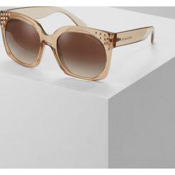 Okulary przeciwsłoneczne damskie: Michael Kors DESTIN Okulary przeciwsłoneczne light brown crystal