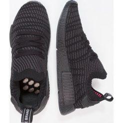 Adidas Originals NMD_R1 STLT PK Tenisówki i Trampki core black/utility black/solar pink. Czarne tenisówki damskie marki adidas Originals, z materiału. W wyprzedaży za 524,30 zł.
