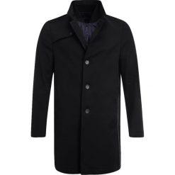 Cinque CIDOVER Krótki płaszcz schwarz. Czarne płaszcze na zamek męskie Cinque, m, z bawełny. W wyprzedaży za 983,20 zł.