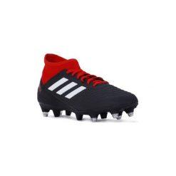 Buty do piłki nożnej adidas  PREDATOR 18.3 SG. Czarne buty skate męskie Adidas, do piłki nożnej. Za 368,11 zł.