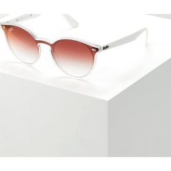 RayBan Okulary przeciwsłoneczne matte transparent. Szare okulary przeciwsłoneczne damskie lenonki marki Ray-Ban. Za 719,00 zł.