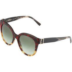 Okulary przeciwsłoneczne damskie aviatory: Burberry Okulary przeciwsłoneczne red