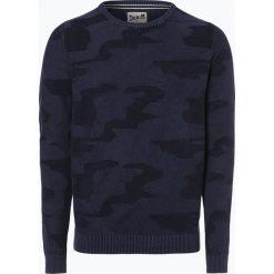 Swetry męskie: DENIM by Nils Sundström - Sweter męski, niebieski