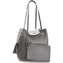 Torebka MONNARI - BAGA610-019  Grey. Szare torebki klasyczne damskie marki Monnari, ze skóry ekologicznej. W wyprzedaży za 129,00 zł.