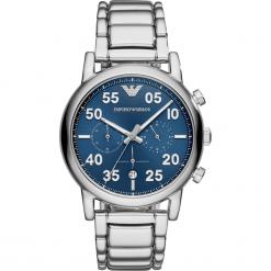 Zegarek EMPORIO ARMANI - Luigi AR11132 Silver/Silver. Szare zegarki męskie Emporio Armani. Za 1495,00 zł.