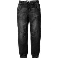 """Miękkie dżinsy bonprix czarny """"stone"""". Czarne spodnie chłopięce bonprix, z dresówki. Za 89,99 zł."""