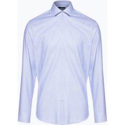 BOSS - Koszula męska – Gordon, niebieski. Czarne koszule męskie marki Boss, m. Za 429,95 zł.