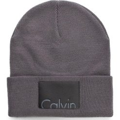 Czapki damskie: Czapka męska CALVIN KLEIN BLACK LABEL - Calvin Beanie K50K503213 000