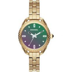 Diesel - Zegarek DZ5550. Brązowe zegarki damskie Diesel, szklane. W wyprzedaży za 479,90 zł.